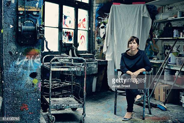 Screenwriter and playwright Abi Morgan is photographed for the Sunday Times magazine on August 5 2015 in London England
