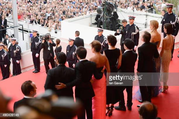 Screenwriter and Producer Arash Amel a guest Jeanne Balibar director Olivier Dahan Tim Roth Nicole Kidman and Paz Vega attend the Opening ceremony...