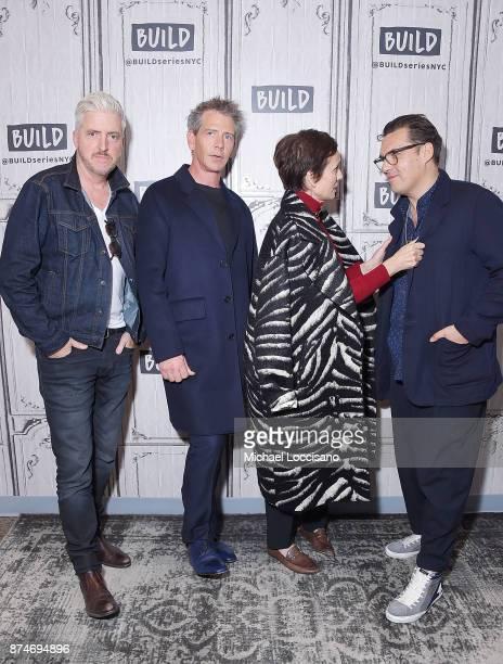 Screenwriter Anthony McCarten actors Ben Mendelsohn and Kristin Scott Thomas and director Joe Wright visit Build Studio to discuss the movie Darkest...