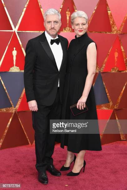 Screenwriter Anthony McCarten and guest attend the 90th Annual Academy Awards at Hollywood Highland Center on March 4 2018 in Hollywood California