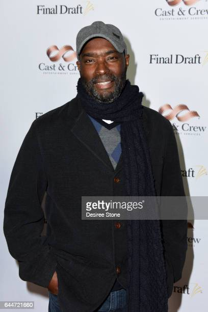 Screenwriter Antwone Fisher attends the 12th Annual Final Draft Awards at Paramount Theatre on February 23, 2017 in Hollywood, California.