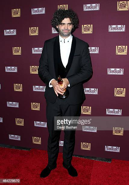 Screenwriter Armando Bo attends the 21st Century Fox and Fox Searchlight Oscar Party at BOA Steakhouse on February 22 2015 in West Hollywood...