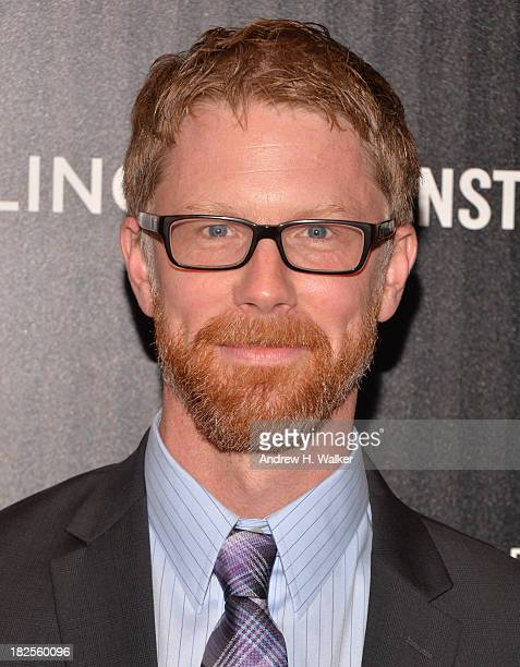 Screenwriter Austin Bunn attends The Cinema Society and Johnston Murphy screening of Sony Pictures Classics' Kill Your Darlings at Paris Theater on...