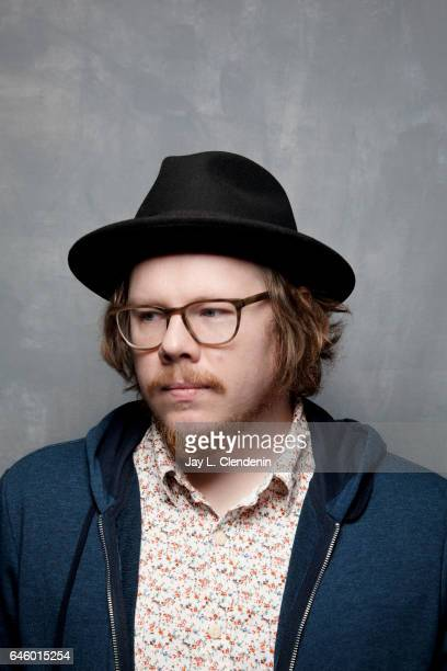 Screenwriter Ben York Jones from the film Newness is photographed at the 2017 Sundance Film Festival for Los Angeles Times on January 22 2017 in Park...