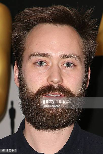Screenwriter Benjamin Cleary attends 88th Annual Academy Awards Oscar Week Celebrates Shorts at AMPAS Samuel Goldwyn Theater on February 23, 2016 in...