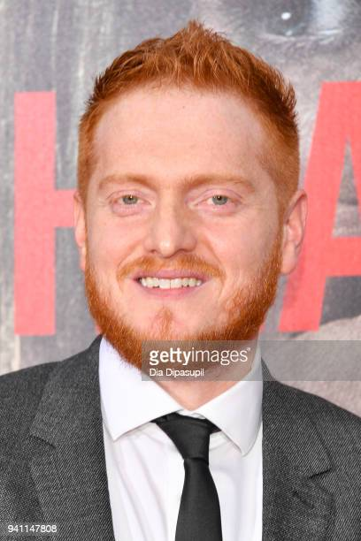 Screenwriter Bryan Woods attends the 'A Quiet Place' New York Premiere at AMC Lincoln Square Theater on April 2 2018 in New York City