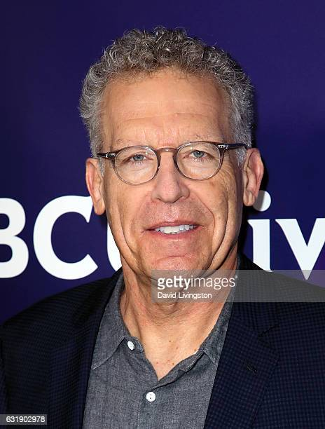 Screenwriter Carlton Cuse attends the 2017 NBCUniversal Winter Press Tour Day 1 at the Langham Hotel on January 17 2017 in Pasadena California