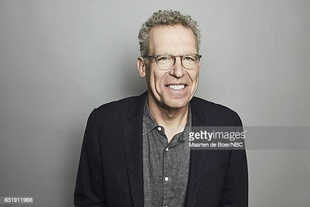 Screenwriter Carlton Cuse of 'Colony' poses for a portrait in the NBCUniversal Press Tour portrait studio at The Langham Huntington Pasadena on...