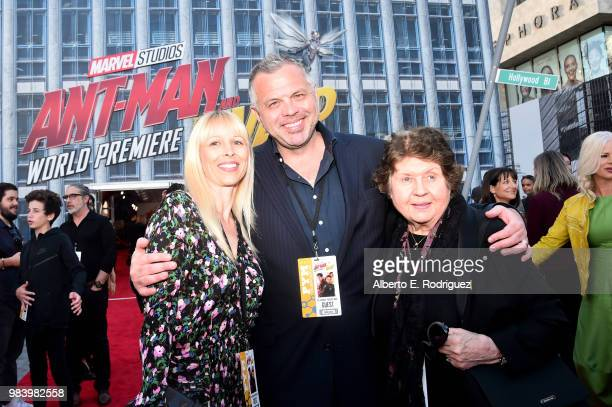 Screenwriter Chris McKenna and guests attend the Los Angeles Global Premiere for Marvel Studios' 'AntMan And The Wasp' at the El Capitan Theatre on...