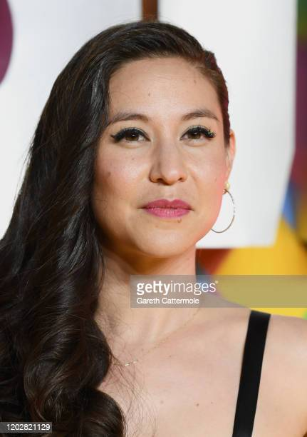 Screenwriter Christina Hodson attends the Birds of Prey And the Fantabulous Emancipation Of One Harley Quinn World Premiere at the BFI IMAX on...