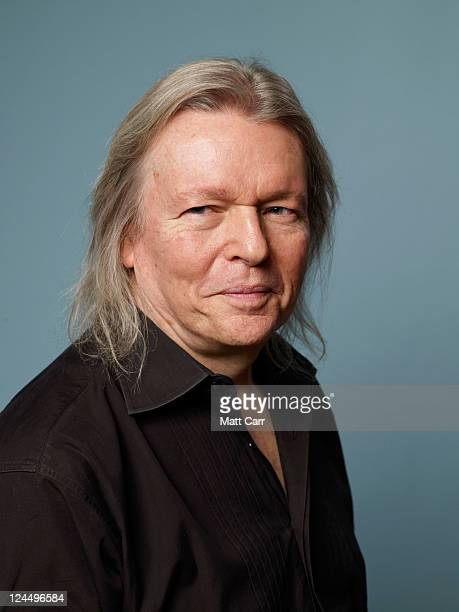 Screenwriter Christopher Hampton of A Dangerous Method poses for a portrait during the 2011 Toronto Film Festival at the Guess Portrait Studio on...