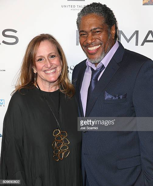 Screenwriter Cindy Chupack and President of the Humanitas Awards Ali LeRoi attend the 41st Humanitas Prize Awards Ceremony at Directors Guild Of...