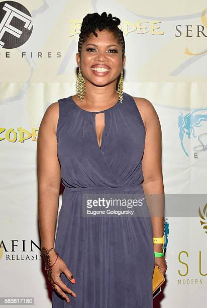 Screenwriter Claire Ince attends Bazodee premiere and concert featuring Machel Montano and friends at PlayStation Theater on July 27 2016 in New York...