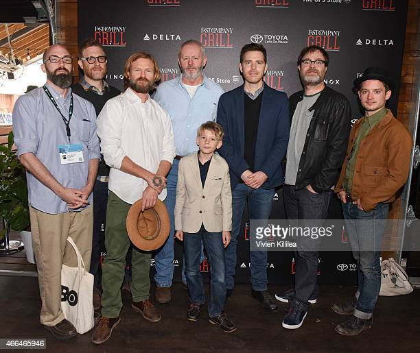 Screenwriter Clay McLeod Chapman producers Daniel Noah and Josh C Waller actors David Morse and Jared Breeze director Craig William Macneill actor...
