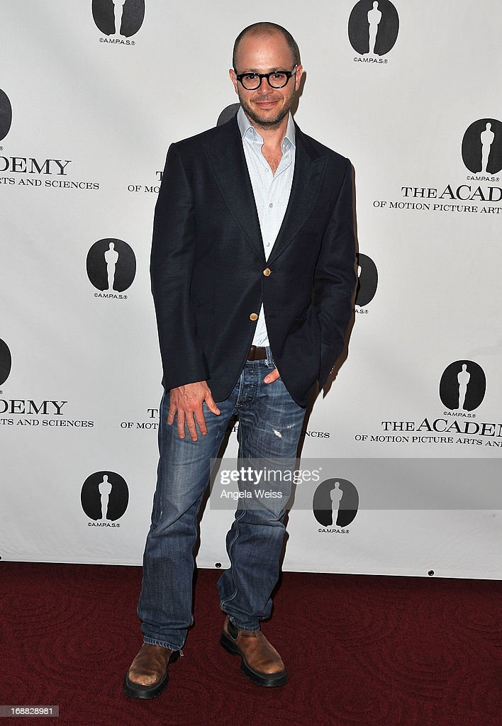 Screenwriter Damon Lindelof attends 'Turning The Page: Storytelling in the Digital Age' presented by The Academy Of Motion Pictures Arts And Sciences at AMPAS Samuel Goldwyn Theater on May 15, 2013 in Beverly Hills, California.