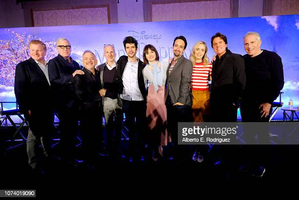 Screenwriter David Magee Colyricist Scott Wittman Composer/Colyricist Marc Shaiman Producer John DeLuca actors Ben Whishaw Emily Mortimer LinManuel...