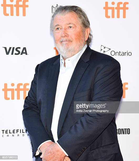 Screenwriter Denis Hamill and Director Walter Hill attend the Assignment premiere during 2016 Toronto International Film Festival at Ryerson Theatre...