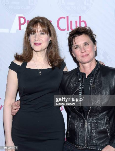 """Screenwriter Devra Maza and director Kimberly Peirce attend a Q&A session at a screening of Tom Donahue's documentary """"This Changes Everything"""" on..."""