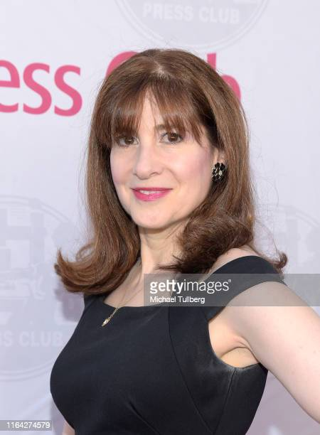 """Screenwriter Devra Maza attends a Q&A session at a screening of Tom Donahue's documentary """"This Changes Everything"""" on July 25, 2019 in Los Angeles,..."""