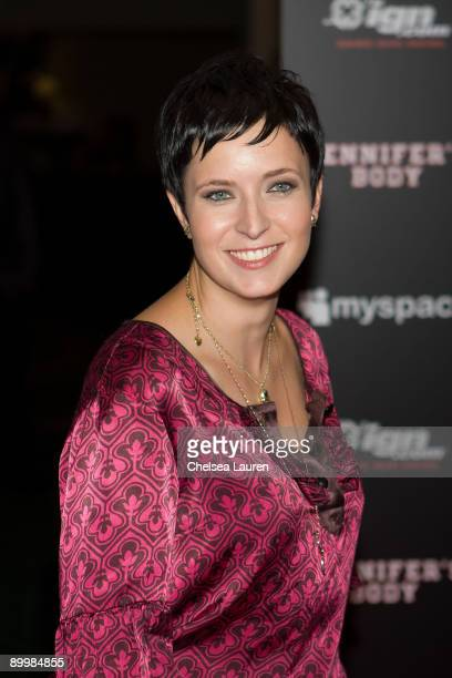 Screenwriter Diablo Cody arrives at the 'Jennifer�s Body' ComicCon Party at the Manchester Grand Hyatt on July 23 2009 in San Diego California