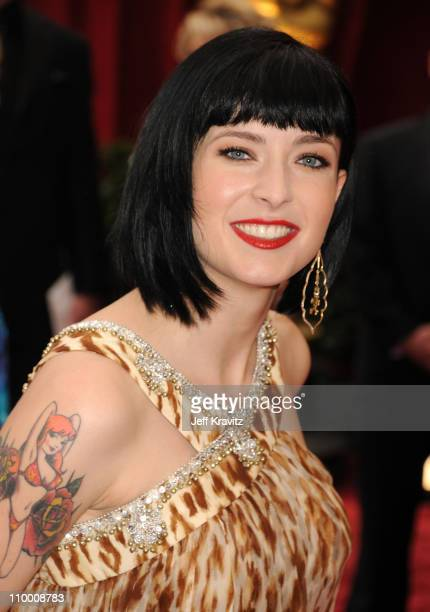 Screenwriter Diablo Cody attends the 80th Annual Academy Awards at the Kodak Theatre on February 24 2008 in Los Angeles California