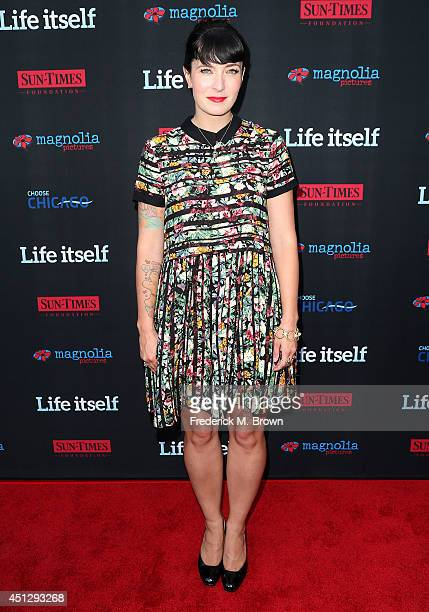 Screenwriter Diablo Cody attends the Premiere of Magnolia Pictures' Life Itself at the ArcLight Hollywood on June 26 2014 in Hollywood California