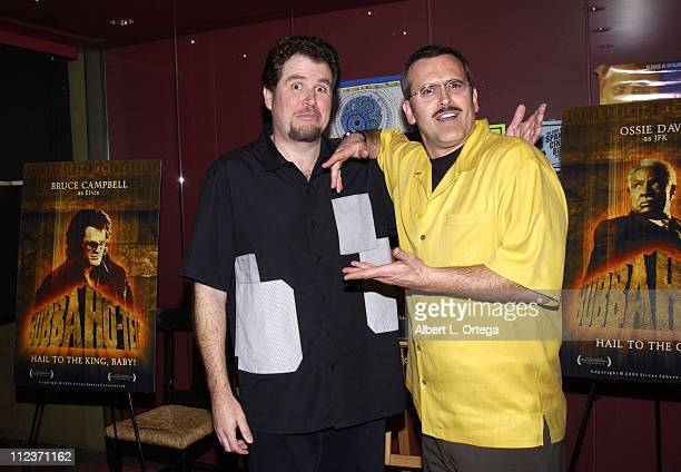 Screenwriter / director / producer Don Coscarelli and Bruce Campbell
