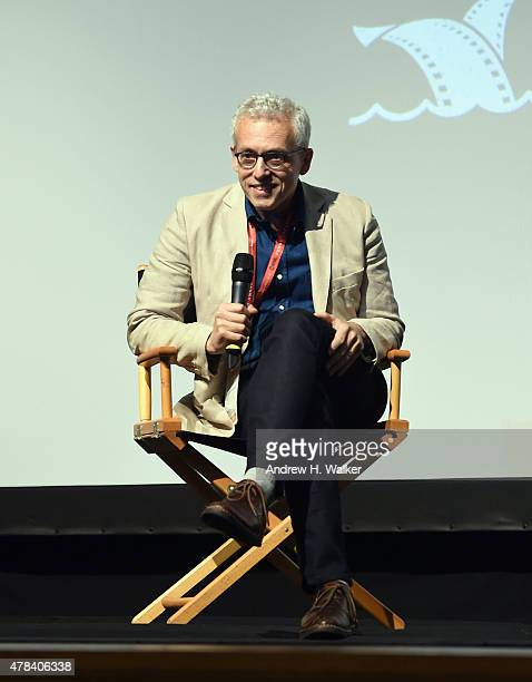 Screenwriter Donald Margulies attends the opening night film The End of the Tour QA during the first day of the 20th Annual Nantucket Film Festival...