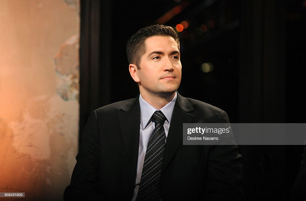 Screenwriter Drew Goddard attends AOL BUILD Series: Drew Goddard and Sir Ridley Scott, 'The Martian' at AOL Studios In New York on January 4, 2016 in New York City.