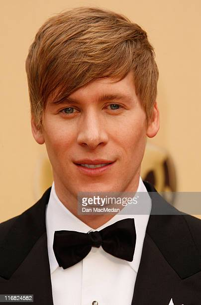 Screenwriter Dustin Lance Black arrives at the 81st Academy Awards at The Kodak Theatre on February 22 2009 in Hollywood California