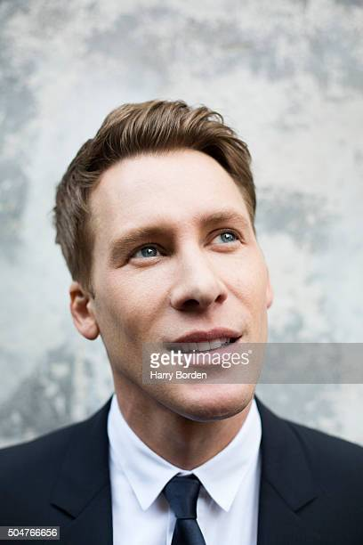 Screenwriter Dustin Lance Black is photographed for Out magazine on November 7 2015 in London England