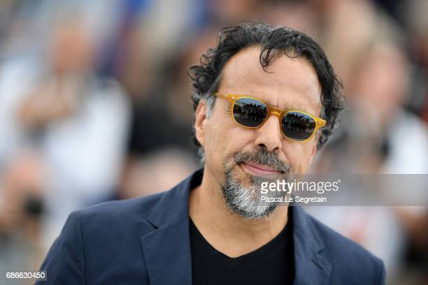 Screenwriter Efthymis Filippou attends the 'Carne Y Arena' photocall during the 70th annual Cannes Film Festival at Palais des Festivals on May 22...
