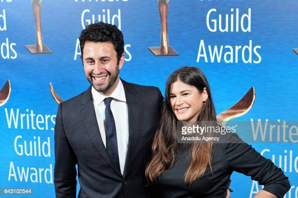 Screenwriter Eli Bauman attends the 2017 Writers Guild Awards Ceremony at The Beverly Hilton Hotel in Los Angeles California United States on...