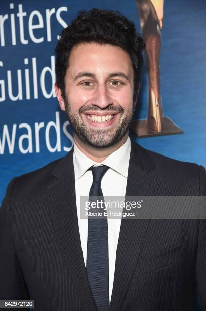 Screenwriter Eli Bauman attends the 2017 Writers Guild Awards LA Ceremony at The Beverly Hilton Hotel on February 19 2017 in Beverly Hills California