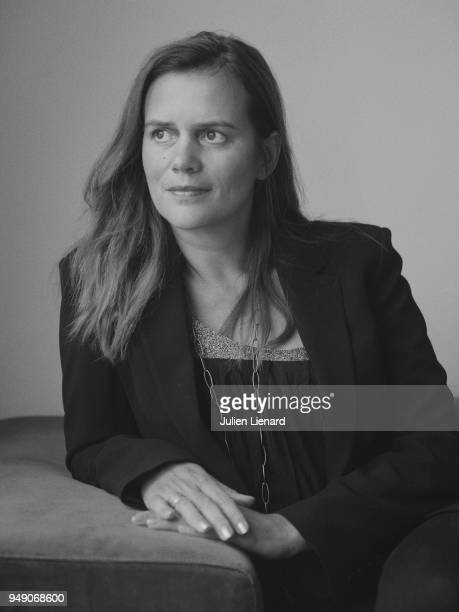 Screenwriter Emilie Georges is photographed for Self Assignment on January 2018 in Paris France