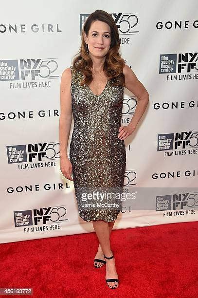 Screenwriter Gillian Flynn attends the Opening Night Gala Presentation and World Premiere of Gone Girl during the 52nd New York Film Festival at...