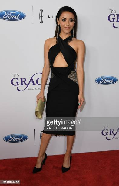 Screenwriter Grace Parra attends the 43nd Annual Gracie Awards May 22 2018 in Beverly Hills California The Gracie Awards honor outstanding...
