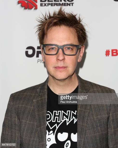 Screenwriter James Gunn attends the screening of The Belko Experiment at Aero Theatre on March 3 2017 in Santa Monica California