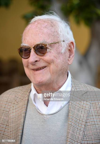 Screenwriter James Ivory attends the 90th Academy Awards French Nominees Reception hosted by the Consul General of France at La Residence de France...