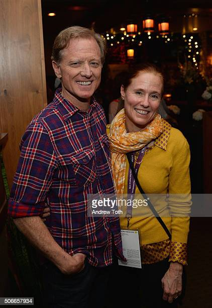 Screenwriter James Redford and Kyle Redford attend the HBO Documentary Films Sundance Party 2016 on January 24 2016 in Park City Utah