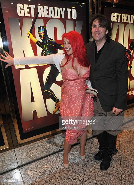 Screenwriter Jane Goldman and TV presenter Jonathan Ross attend the 'Kick Ass' European film premiere at the Empire, Leicester Square on March 22,...