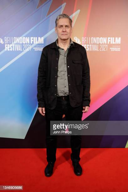 Screenwriter Janne Vierth attends The Ape Star UK Premiereduring the 65th BFI London Film Festival at the BFI Southbank on October 16, 2021 in...