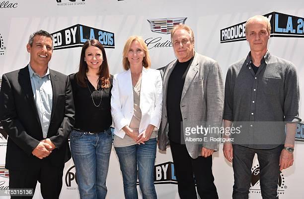 Screenwriter Jeffrey Nachmanoff writer Kay Cannon producer Jennifer Fox founder of Atlas Entertainment Charles Roven and screenwriter Dan Gilroy...