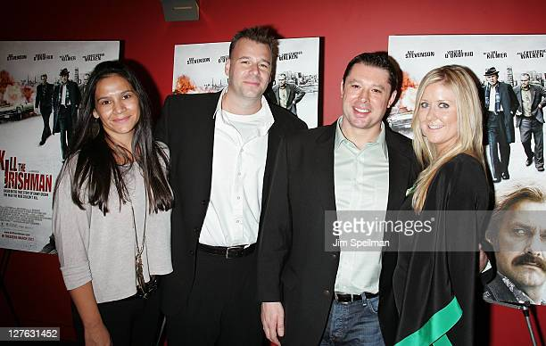 Screenwriter Jeremy Walters and Producer Tommy Reid attend the premiere of 'Kill the Irishman' at Landmark's Sunshine Cinema on March 7 2011 in New...