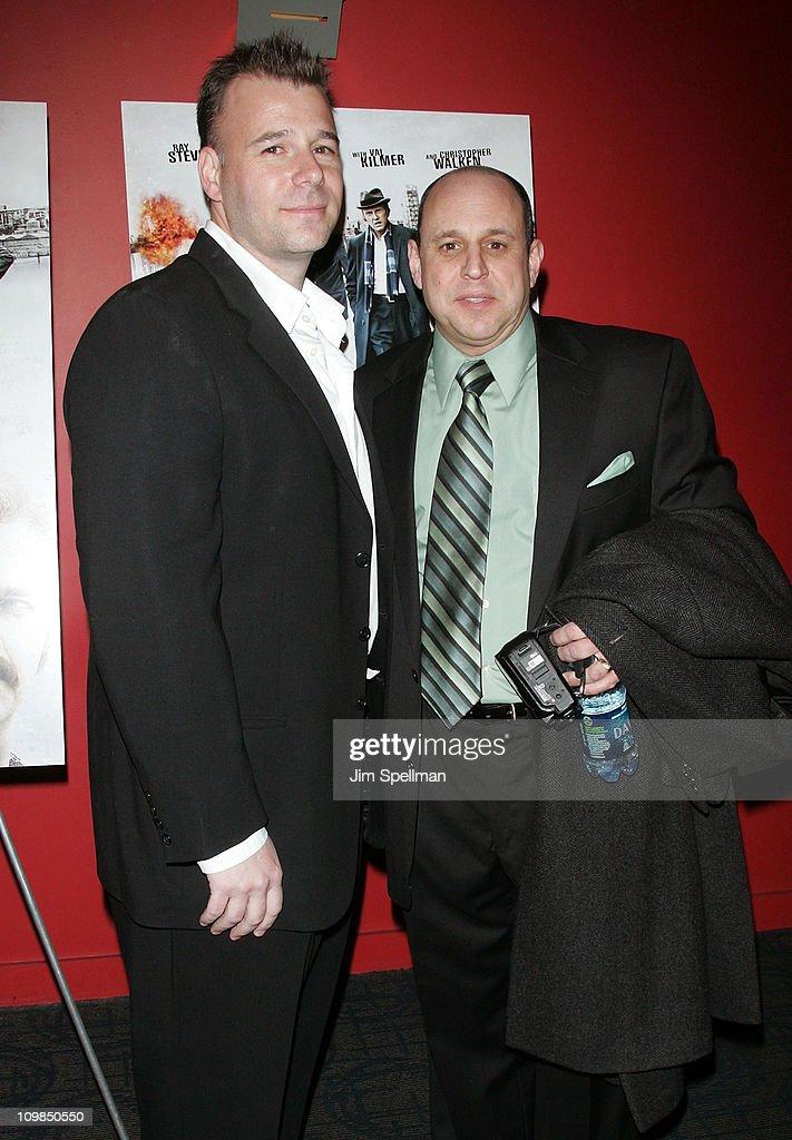 Screenwriter Jeremy Walters and writer Rick Porrello attend the premiere of 'Kill the Irishman' at Landmark's Sunshine Cinema on March 7, 2011 in New York City.