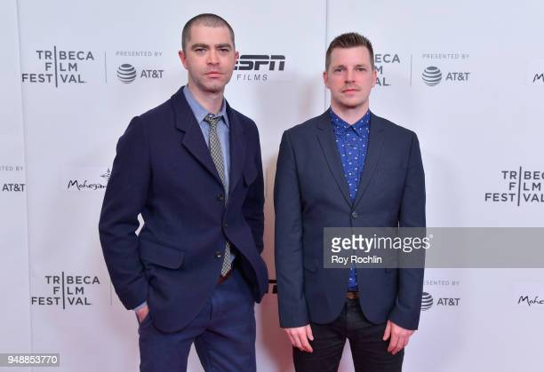 Screenwriter Jesse Lichtenstein and Director Tom Dumican attend a screening of 'No Greater Law' during the 2018 Tribeca Film Festival at Cinepolis...