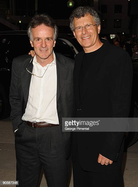 Screenwriter John Collee and director Jon Ameil attend Astral Media's Opening Night Gala at Roy Thomson Hall during the 2009 Toronto International...