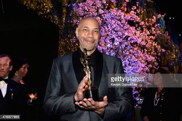 Screenwriter John Ridley attends the Oscars Governors Ball at Hollywood Highland Center on March 2 2014 in Hollywood California