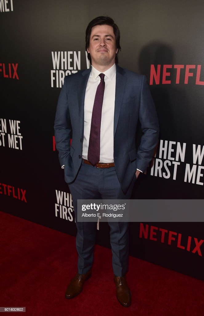 Screenwriter John Whittington attend a special screening of Netflix's 'When We First Met' at ArcLight Hollywood on February 20, 2018 in Hollywood, California.