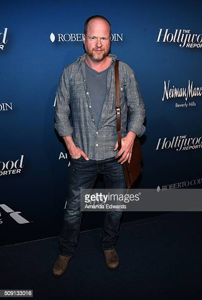 Screenwriter Joss Whedon arrives at The Hollywood Reporter's 4th Annual Nominees Night at Spago on February 8 2016 in Beverly Hills California